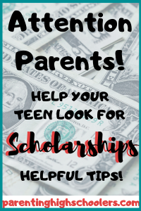 Scholarships will help pay for college!