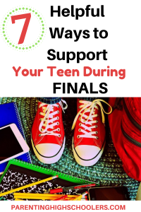 Ways to help your student prepare for finals|www.parentinghighschoolers.com