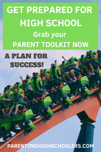 High school survival kit for parents
