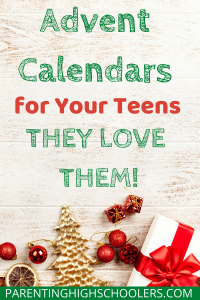 Christmas items scattered around|www.parentinghighschoolers.com
