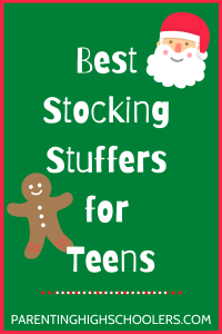 Best Stocking Stuffers for Teens|www.parentinghighschoolers.com