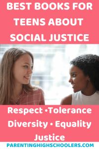 Social justice for teens|www.parentinghighschoolers.com