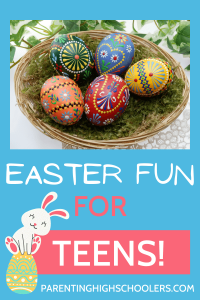 Fill your teen's Easter basket with love!