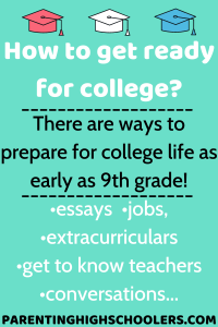How to get ready for college|www.parentinghighschoolers.com