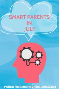 Ideas for parents in July