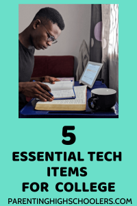 Essential tech items for college