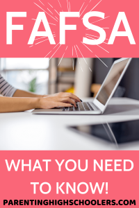 Fill out the FAFSA!