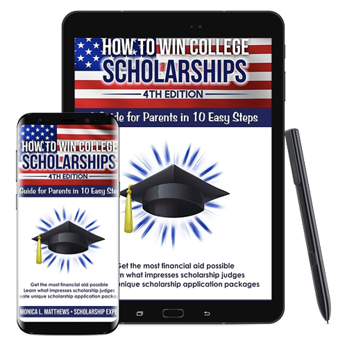how to win scholarships book